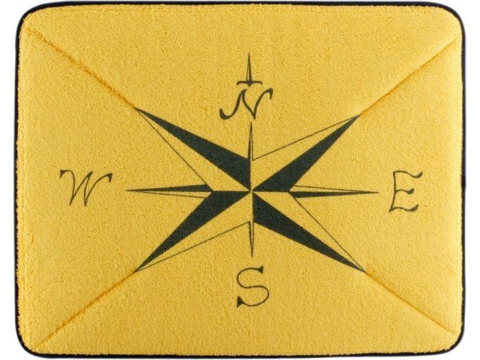 COLORS нескользящий коврик, желтый 50 х 40 см