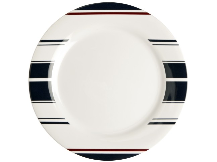 MONACO тарелка обеденная с нескользящей основой, набор 6 шт.