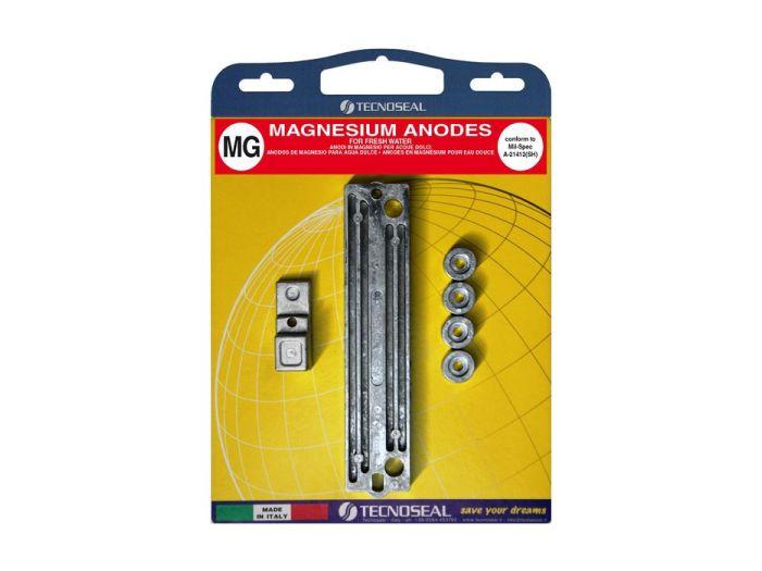 Комплект магниевых анодов для двигателя Suzuki 90-140 hp