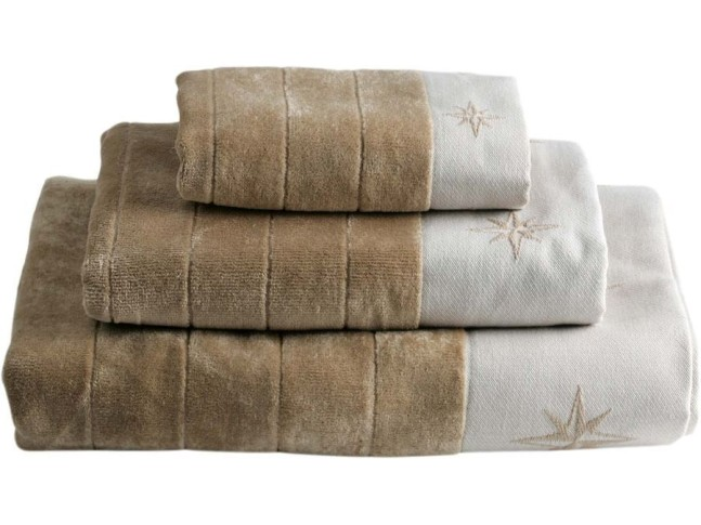 FREE STYLE комплект 3 полотенца, бежевый