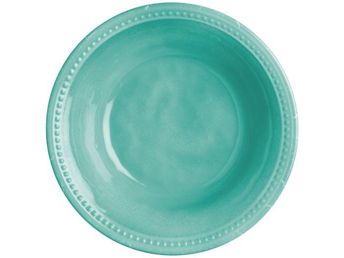 HARMONY тарелка глубокая, цвет морской волны, набор 6 шт.