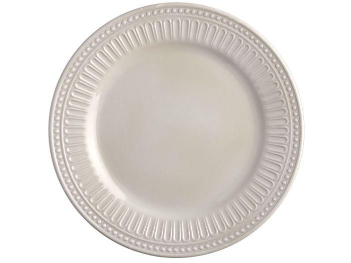 HARMONY тарелка плоская, цвет слоновой кости набор 6 шт.