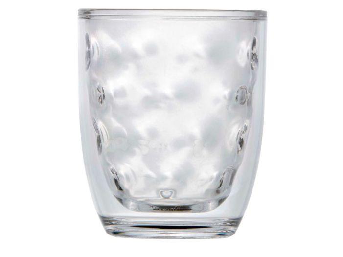 LUX стакан для воды с двойными стенками, прозрачный набор 6 шт