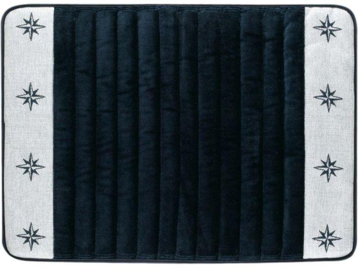 FREE STYLE Душевой коврик с нескользящей основой, темно-синий