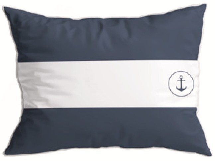 SANTORINI декоративные подушки (2 шт.) Flag I Blue, синии 40 x 30 см