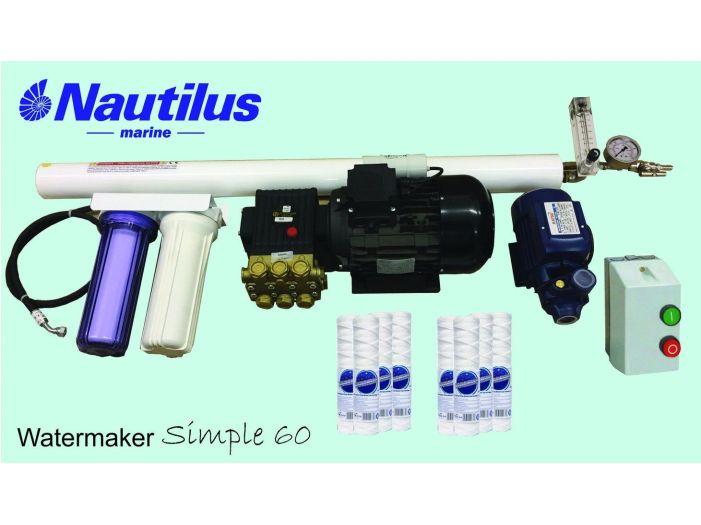 Опреснитель Nautilus Simple 60 л/час