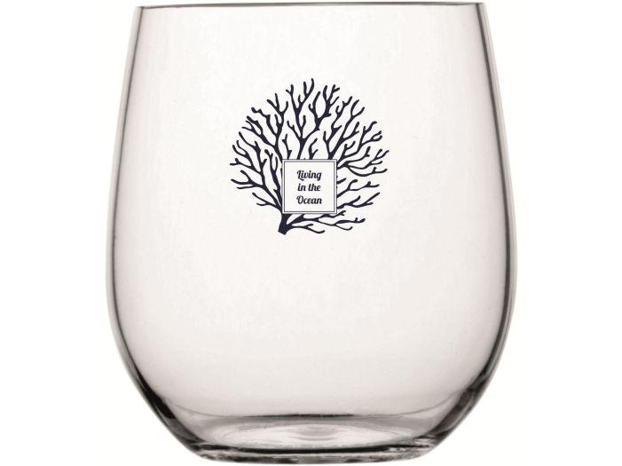 LIVING Набір склянки для віскі / води на 6 персон з нековзною основою, прозорі, 6 шт.
