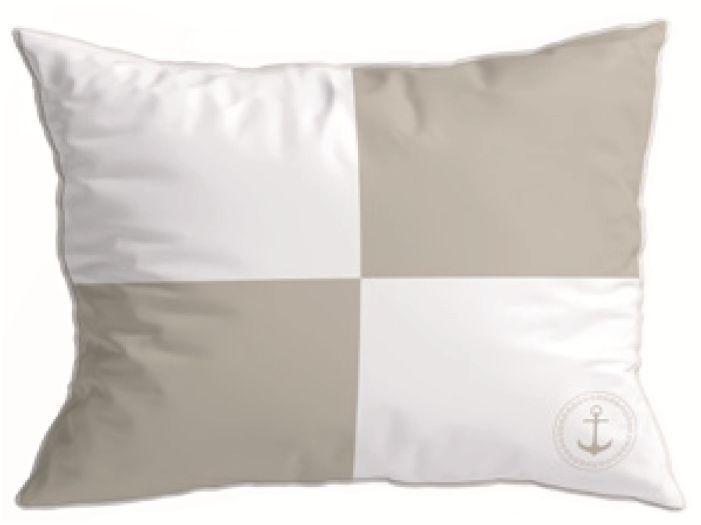 SANTORINI декоративні подушки (2 шт.) Flag II Beige, бежеві 40 x 30 см.