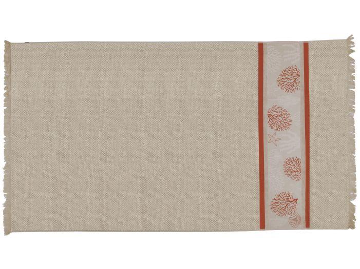 IBIZA Beige пляжний рушник, 180 x 100 см.