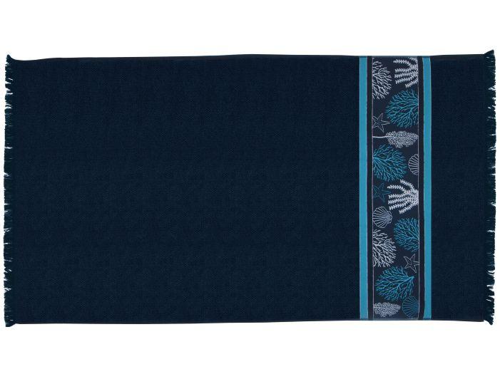 IBIZA Blue пляжний рушник, 180 x 100 см.