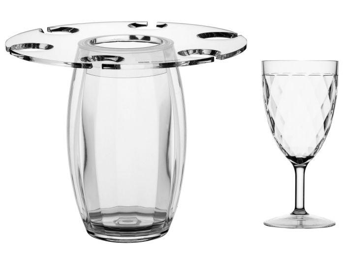 PARTY набор для шампанского + 6 бокалов