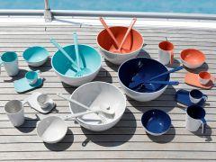 SUMMER Coral салатниця зі столовими приборами ☀