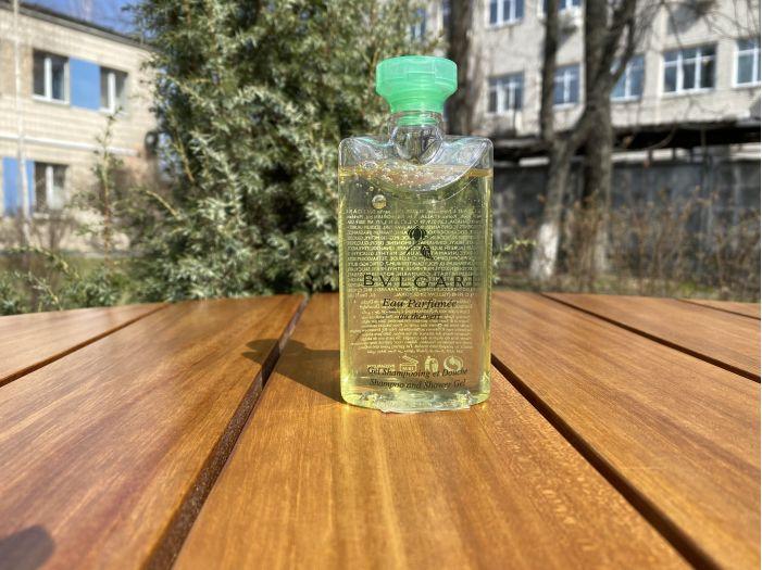 Шампунь и гель для душа Bulgari (Green Tea) 75 мл.