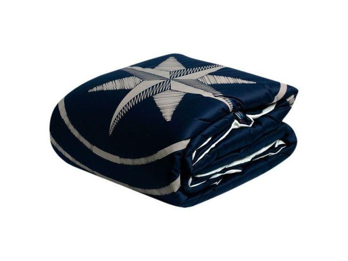 FREE STYLE двуспальное одеяло, темно-синее