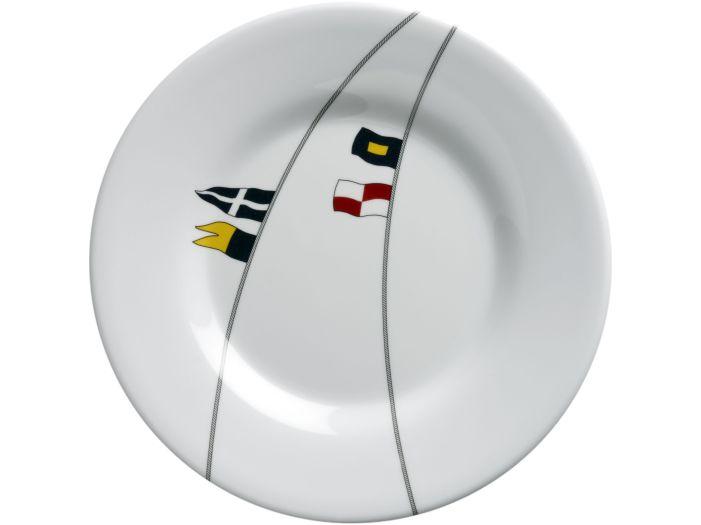 REGATA тарелка десертная с нескользящей основой