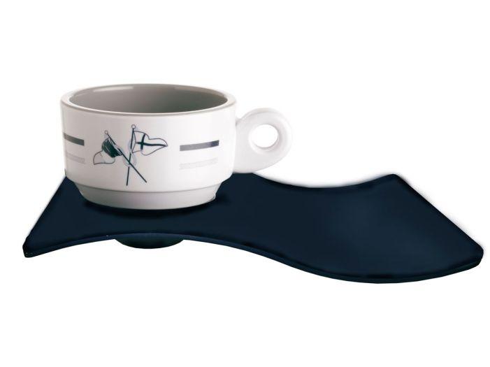 WELCOME ON BOARD кофейная чашка с блюдцем, набор 6 шт.