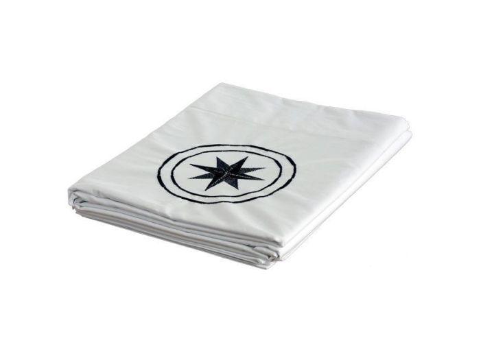 FREE STYLE белая верхняя простынь и наволочка, двуспальный комплект