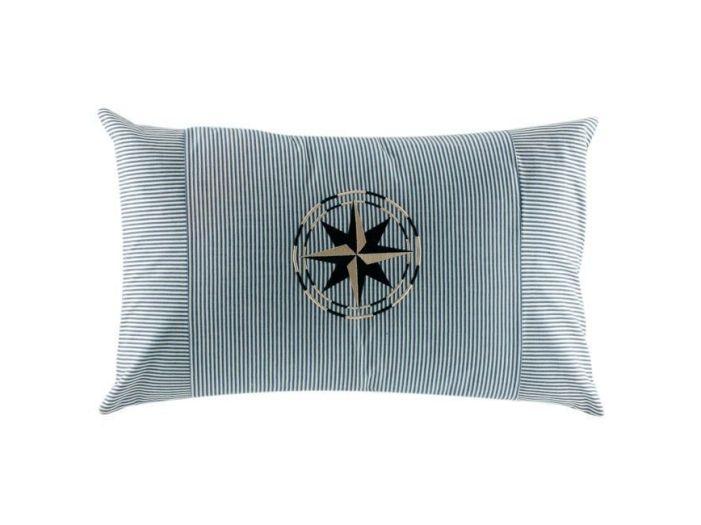 CHIC голубая декоративная подушка 40 x 60 см