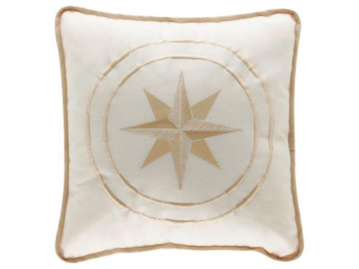 FREE STYLE Декоративная подушка, бежевая, 40 x 40 см