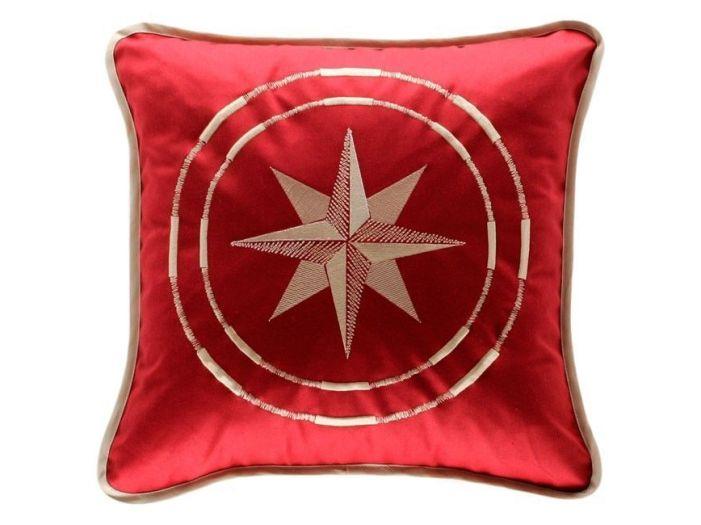 CLASSIC бордовая декоративная подушка 40 x 40 см