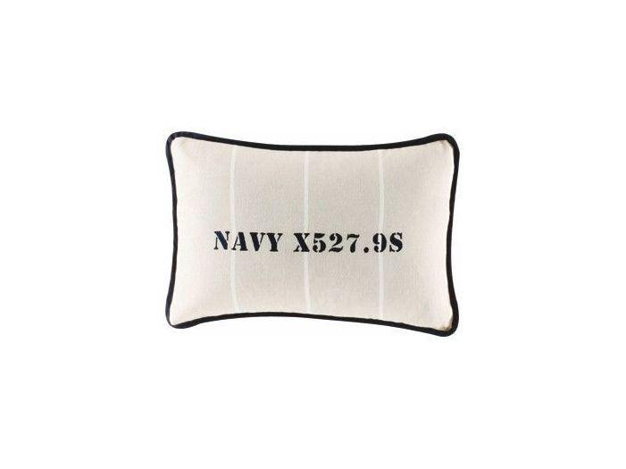 NAVY темно-синяя декоративная подушка 30 x 40 см