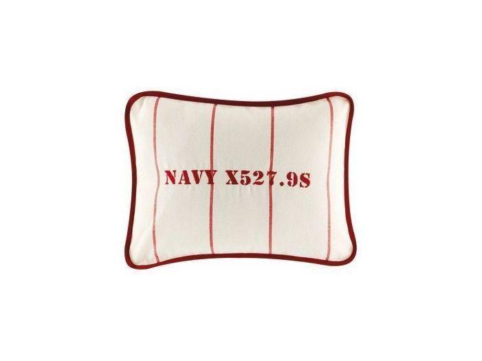 NAVY бордовая декоративная подушка 30 x 40 см