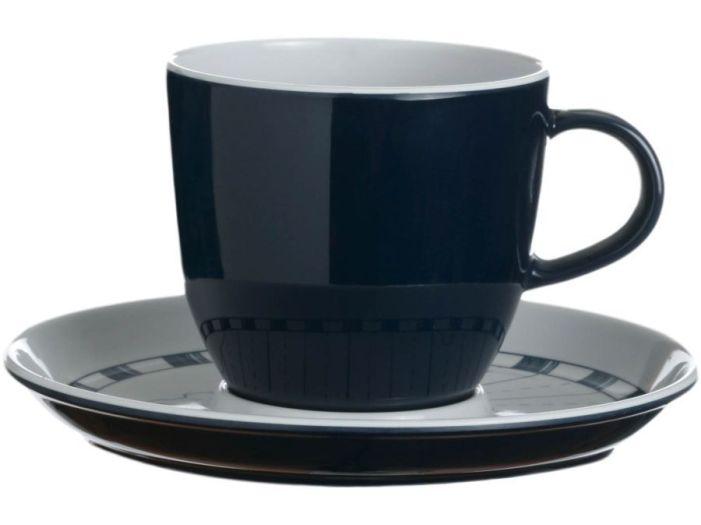 COLUMBUS чайная чашка с блюдцем, набор 6 шт.