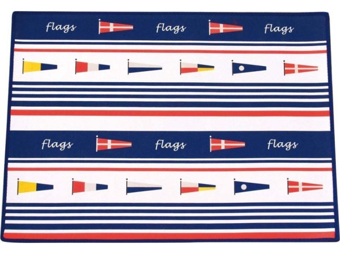 Коврик FLAGS, неопреновый, 70 х 50 см