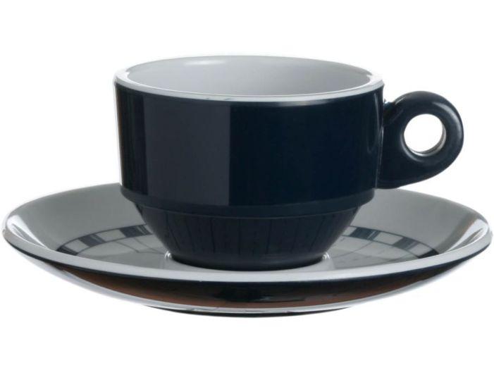 COLUMBUS кофейная чашка с блюдцем, набор 6 шт.