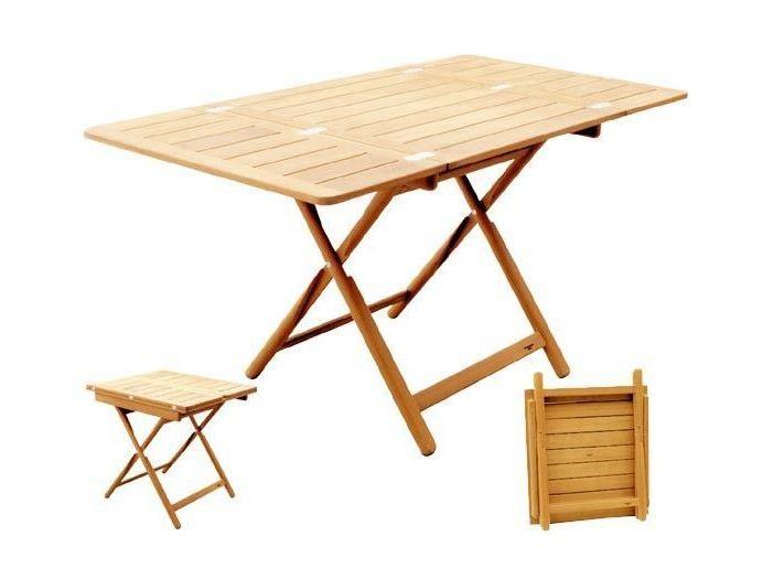 ATEP Раздвижной стол 70 x 75 (140 x 75) см регулируется 6 положений по высоте