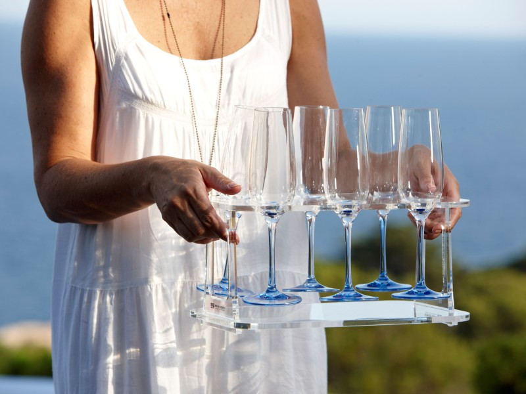 Наборы бокалов для шампанского